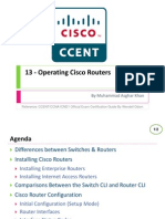13 - Operating Cisco Routers