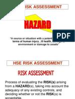 Copy of HSE Risk Assessment Scribd