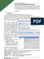Manejo de Sesiones Con PHP