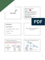 Signalling SIP SIGTRAN Overview Handout