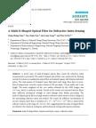 A Multi-D-Shaped Optical Fiber for Refractive Index Sensing