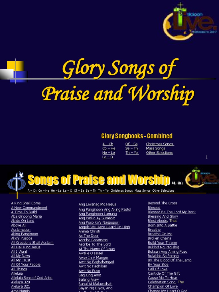 Songs Of Praise And Worshipcombined Amazing Grace Jesus