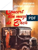 Hortensia Papadat- Bengescu - Concert Din Muzica de Bach