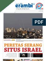 Serambi Newspaper_Peretas Serang Situs Israel