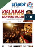 Serambi Newspaper_PMI Akan Miliki Pabrik Kantung Darah