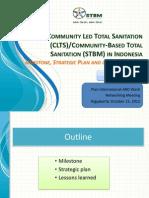 Presentasi tentang CLTS ke STBM di Indonesia