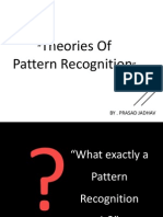 Theories of Pattern Recognition