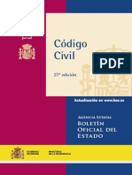 BOE Codigo Civil 2008