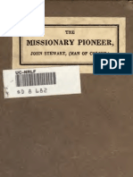 Joseph Mitchell; William Walker--The Missionary Pioneer, Or a Brief Memoir of the Life, Labours, And Death of John Stewart, (Man of Colour)(1918)