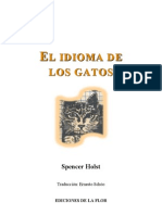 Holst, Spencer - El Idioma de Los Gatos