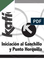 Iniciacion Al Ganchillo y Punto de Horquilla
