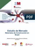 Materiales de construcción en Brasil