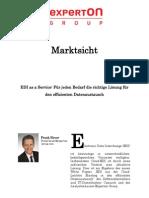 Experton Group Marktsicht EDI as a Service Oktober 2012 Frank Heuer