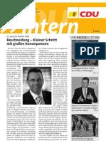 CDU intern November 2012
