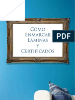 Como Enamarcar Laminas y Certificados