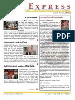 November 2012 EiE Express Newsletter