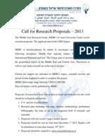 Ariel MERC Research Proposal