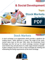 22(B) Stock Market in India