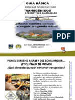 Guia Alimentos OGM y Alternativas Segunda Edicion 092012 Chile
