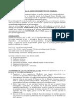 UNIDAD 9 Derecho Colectivo de Trabajo