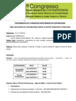 Programa I Congresso Norte Mineiro de Contabilidade 2012 BANNER