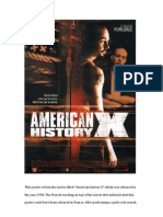 Essay American History X