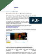 El Giro de Los Videojuegos.entrevista Dra. Beatriz Marcano