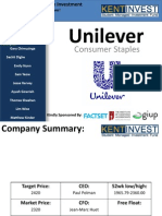 Unilever Draft