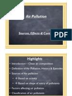 environmental engg air pollution