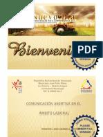 COMUNICACIÓN ASERTIVA EN EL ÁMBITO LABORAL