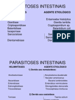 17.Parasitoses Intestinais