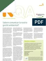 RQA16 Sabem comunicar la nostra gestió ambiental?