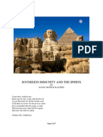 Sovereign Immunity and the Sphinx by David Arthur Walters