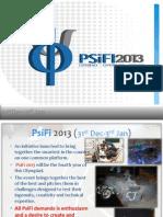 PsiFi 2013