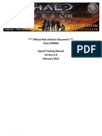Official Halo Division Document