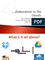 Collaboration in the Clouds