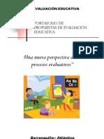 Portafolio de evaluación educativa