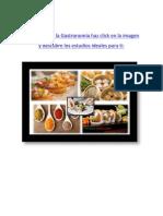 Estudios de Gastronomia o Arte Culinario en El Extranjero
