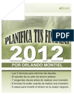 Planifica Tus Finanzas 2012