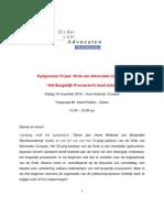 Lezing-Karel Frielink-35-Jarig Bestaan Orde Van Advocaten-16NOV12