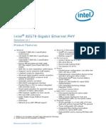 82579 Gbe Phy Datasheet Vol 2 1
