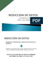 Reduccion de Datos