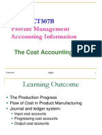 4-The Cost Accounting Cycle