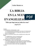 Mesters, Carlos - La Biblia en La Nueva Evangelizacion