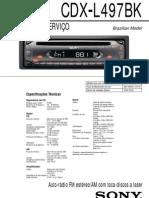 Sony Cdx l497bk