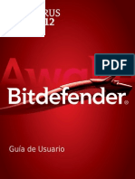 Bitdefender Antivirus Plus 2012 Manual de Usuario