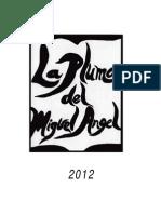 Boletín Literario La Pluma del Miguel Ángel 2012
