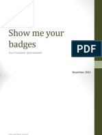 Show Me Your Badges