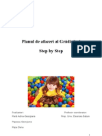 Plan de Afaceri Final Gradinita 2012 Step by Step
