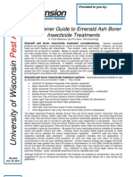 WisconsinEABHomeowner Guide to EAB Insecticide Treatments